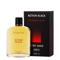 Action Black After Shave 100 ml